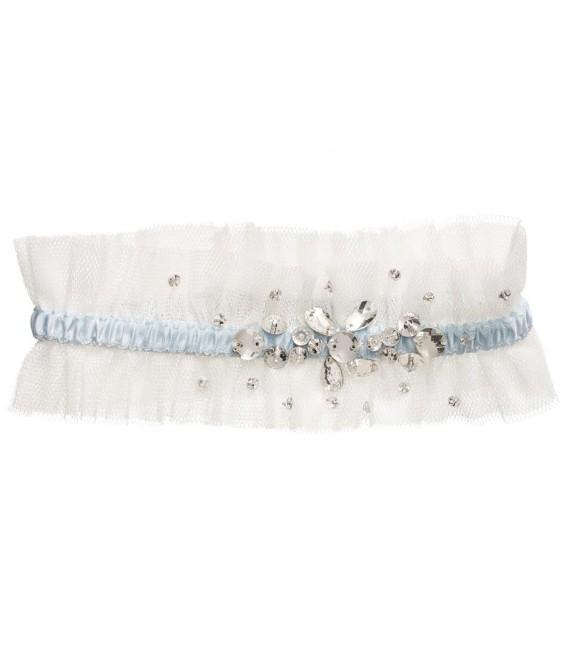Lilly kousenband 12-323-CR-M - The Beautiful Bride Shop