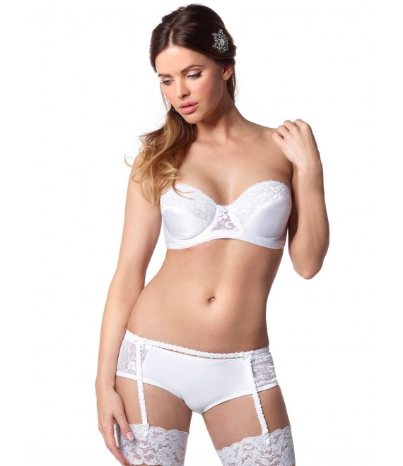Luxury lace Bra 123 Poirier- The Beautiful Bride Shop
