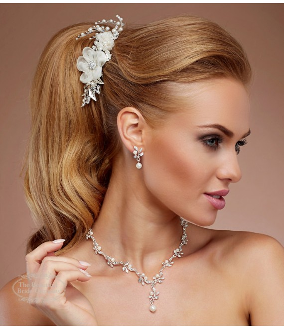 Elegante sieradenset N31 - The Beautiful Bride Shop
