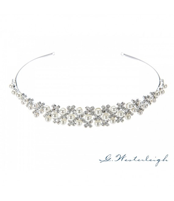 G. Westerleigh Tiara 6-1474 - The Beautiful Bride Shop
