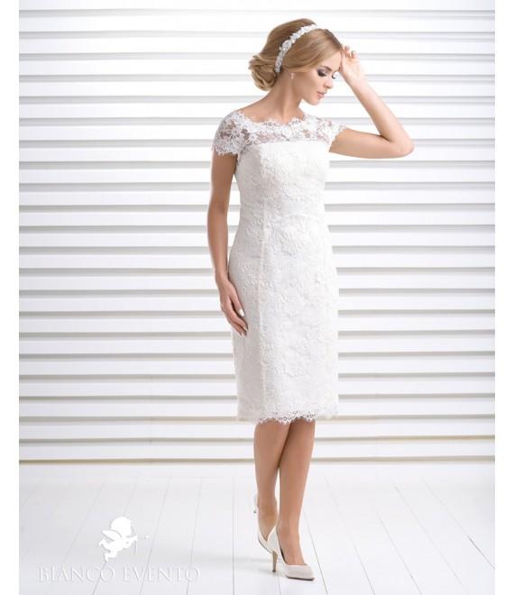 Bruidsjurk Aprilia_a, Bianco Evento - The Beautiful Bride Shop