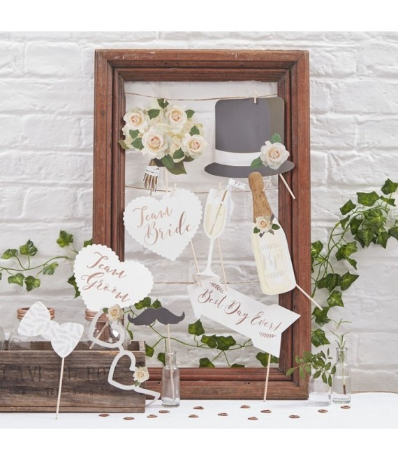 Photo Booth Props - Beautiful Botanics - The Beautiful Bride Shop
