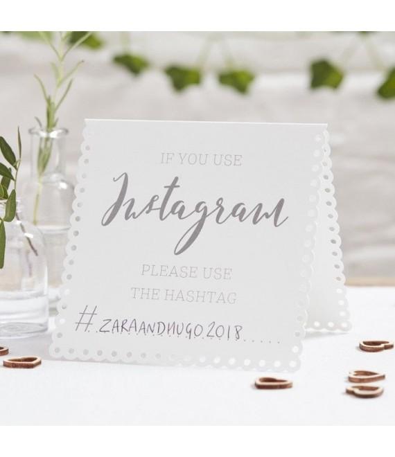 Instagram Tent Cards 1 - Beautiful Botanics - The Beautifulbrideshop