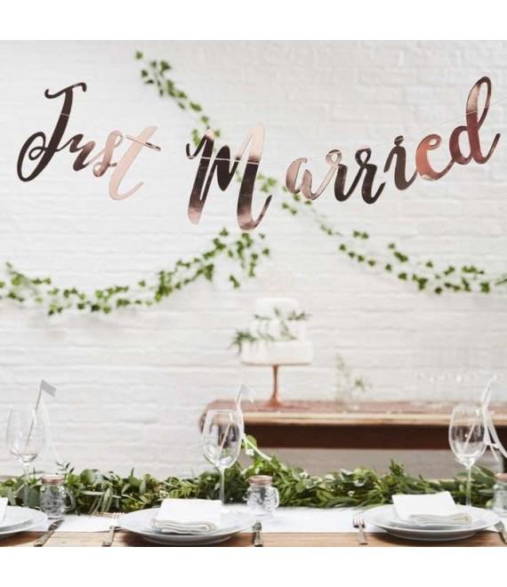 Slinger Just Married in roségoud BB-276 1- Beautiful Botanics