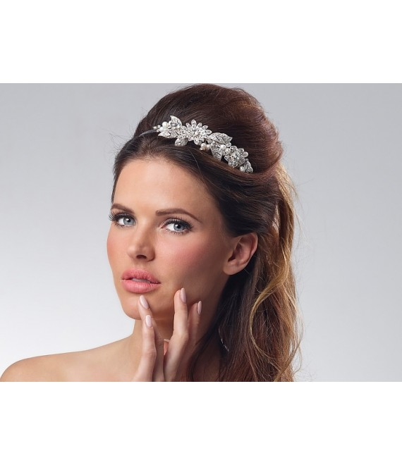 Luxe Tiara BB-7137 Poirier - The Beautiful Bride Shop