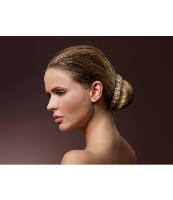 Haarband met parels BB-8715 Poirier - The Beautiful Bride Shop