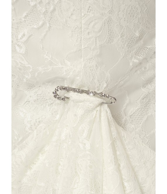Strass Sleepspeld  BB-915 Poirier - The beautiful Bride Shop