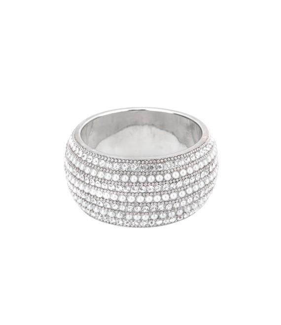 Parel - Strass Armband BB-930 Poirier - The beautiful Bride Shop