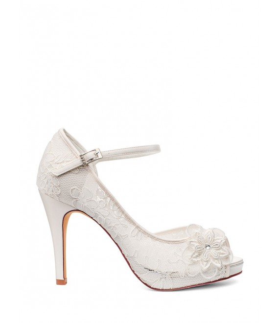 Bruidsschoenen Lola - G.Westerleigh  1 - The Beautiful Bride Shop