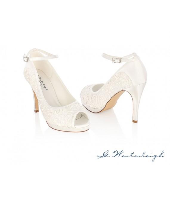 G.Westerleigh Bruidsschoenen Carolina_6 - The Beautiful Bride Shop