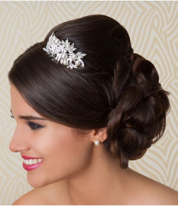 G. Westerleigh Tiara DHR00121 - The Beautiful Bride Shop