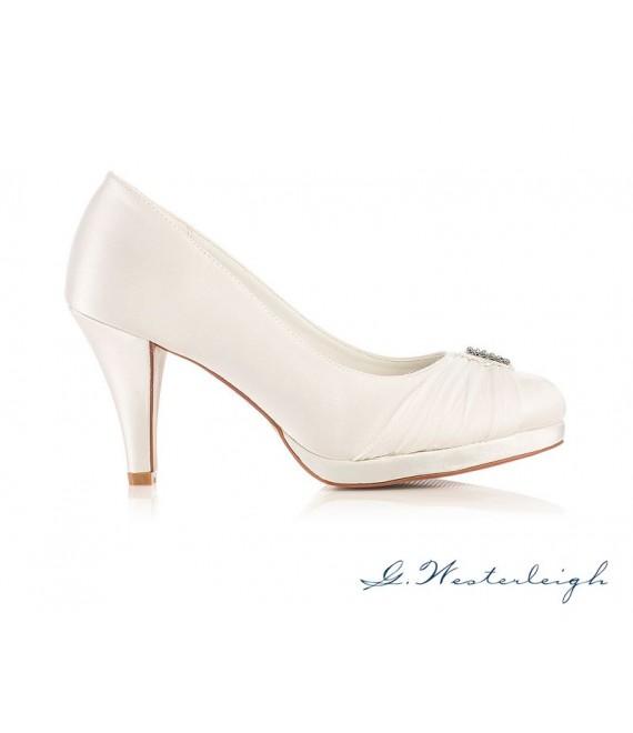 G.Westerleigh Bruidsschoenen Hannah 1 - The Beautiful Bride Shop