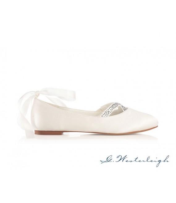G.Westerleigh Bruidschoenen Jenny 1 - The Beautiful Bride Shop