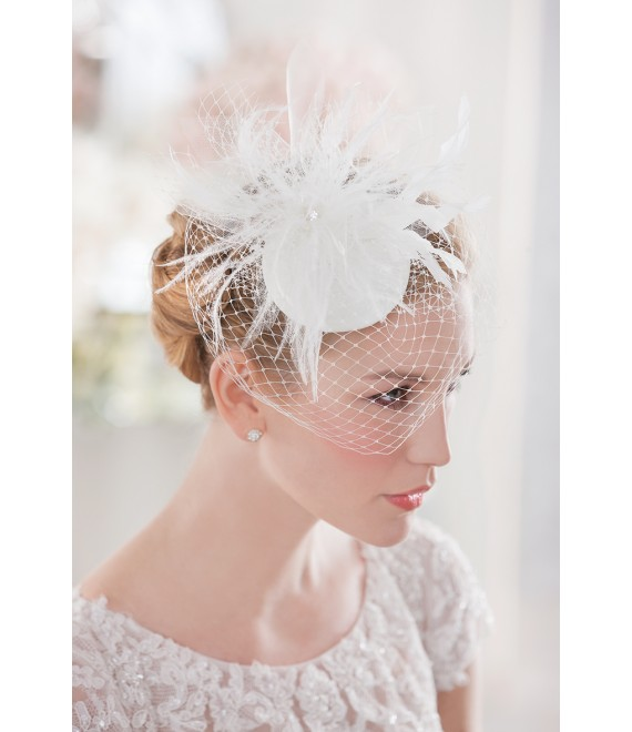 Emmerling Fascinator 20174 - The Beautiful Bride Shop