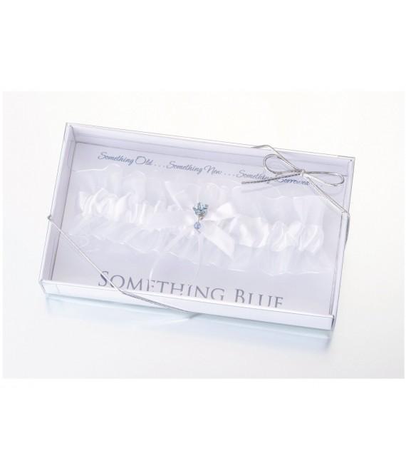 Lillian Rose kousenband met strik en ornament LG119 - The Beautiful Bride Shop