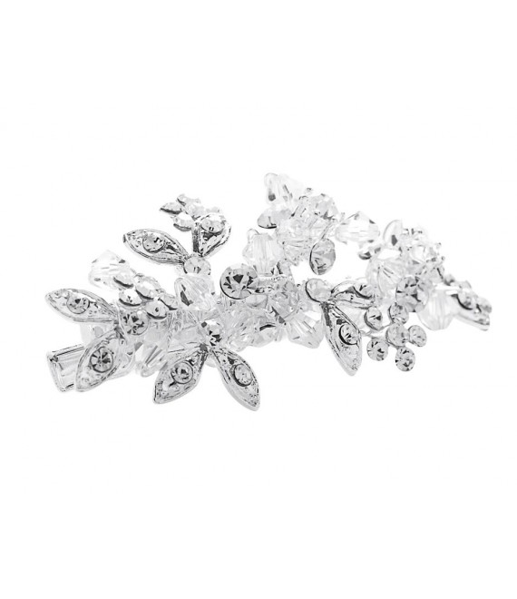 Lilly hair clip (03-348-SV-0) - The Beautiful Bride Shop