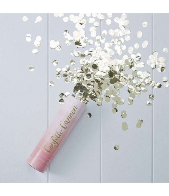Pink Ombre Compressed Air Confetti Cannon Popper - Pick And Mix - The Beautiful Bride Shop