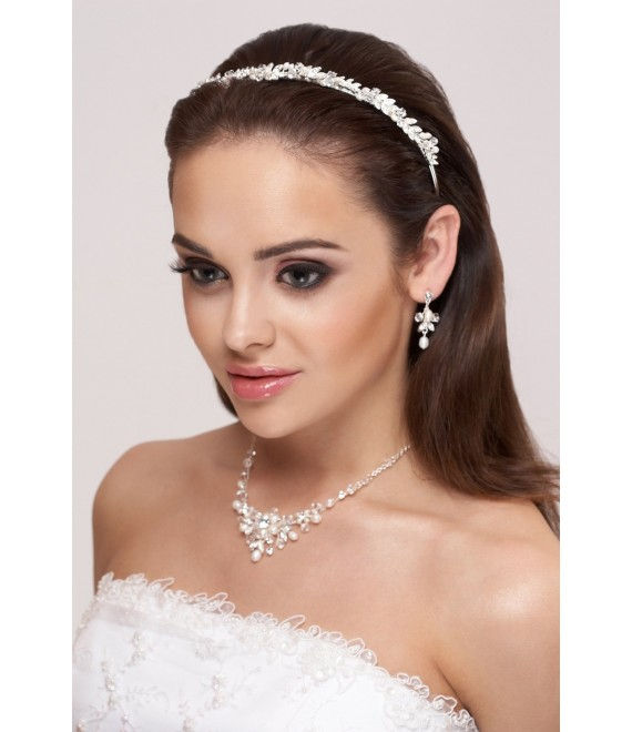 Tiara, Necklace and Earrings D36- N25 - The Beautiful Bride Shop