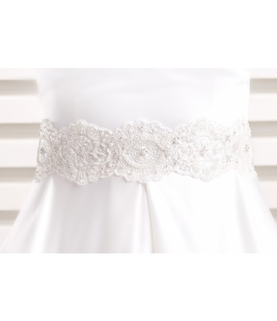 Satijnen tailleband PA3 - The Beautiful Bride Shop