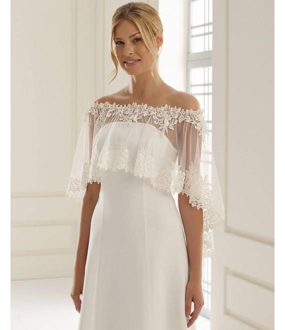Poncho E244 - The Beautiful Bride Shop
