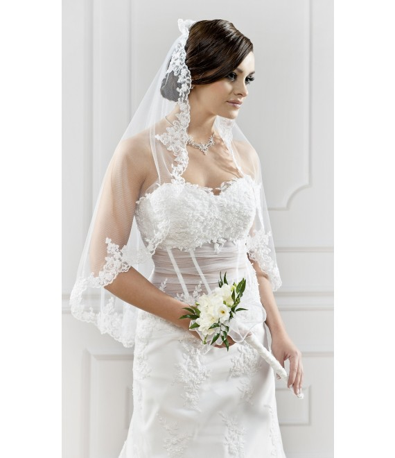 Sluier S103 - The Beautiful Bride Shop