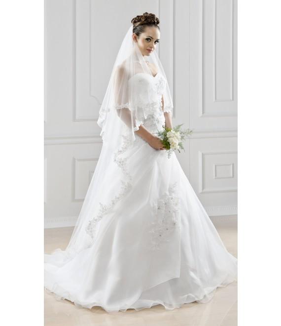 Bianco Evento Sluier S123 - The Beautiful Bride Shop