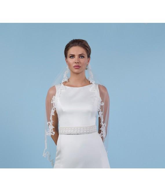 Sluier S140-350 - Poirier | The Beautiful Bride Shop 1