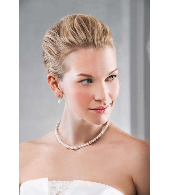 Emmerling  Ketting en oorbellen 66168 - The Beautiful Bride Shop
