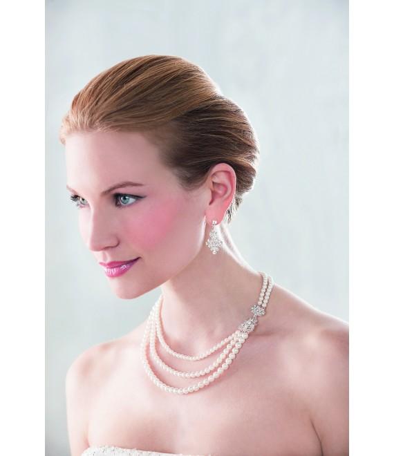 Emmerling  Ketting en oorbellen 66150 - The Beautiful Bride Shop