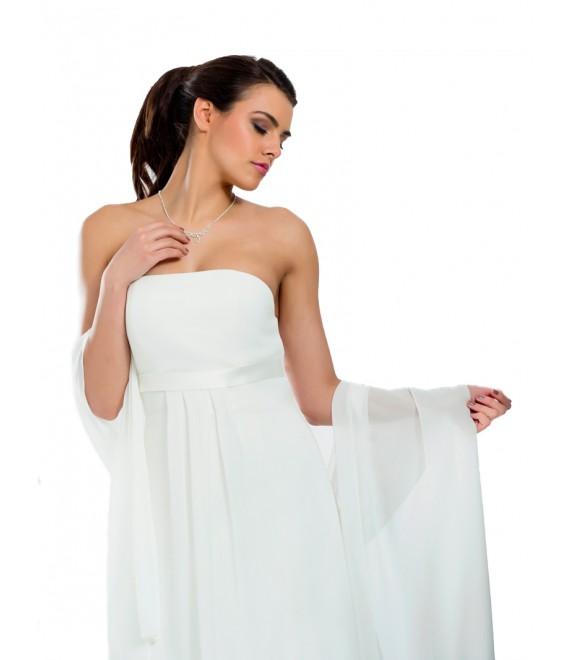 Chiffon scarf BBCE15 - The Beautiful Bride Shop