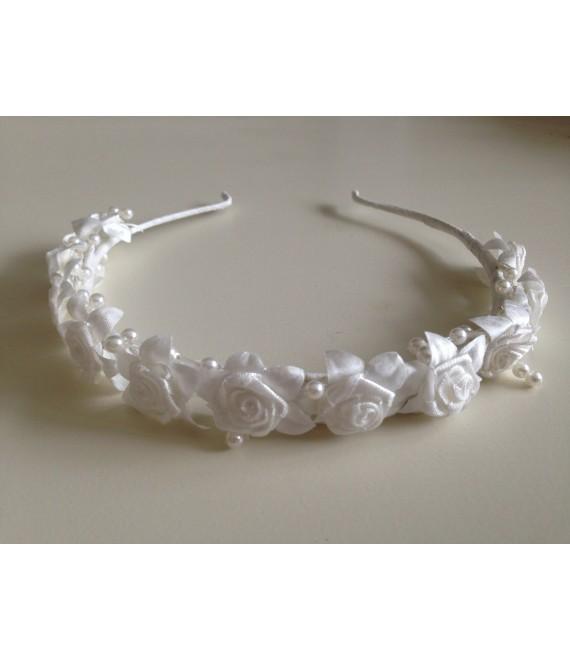 Tiara met roosjes voor bruidsmeisjes - The Beautiful Bride Shop