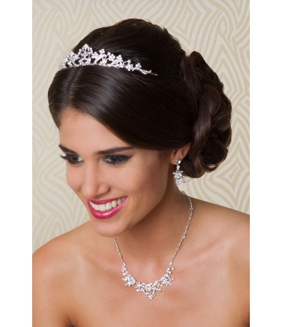 G. Westerleigh Tiara TS-J257 - The Beautiful Bride Shop