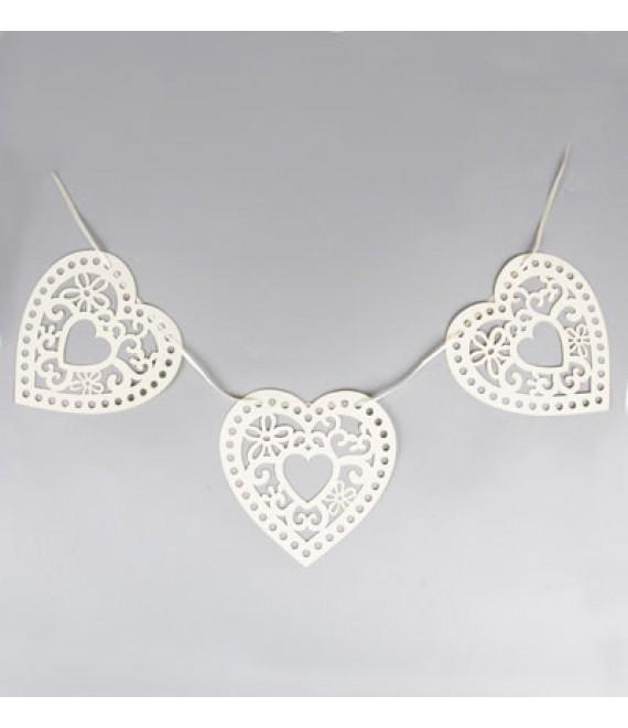 Wedding decoratie Paper bunting (WED007)- The Beautiful Bride Shop