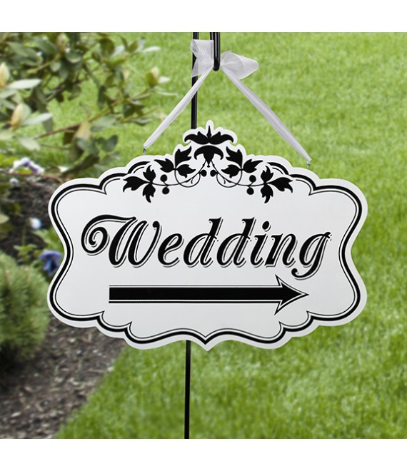Bewegwijzeringsbord Wedding WF652 - The Beautiful Bride Shop