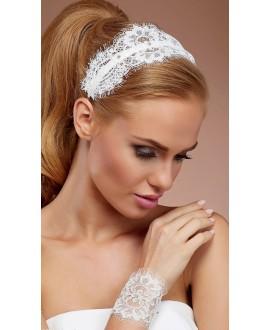 Armband van kant met Swarovski kristallen (BBCN5)