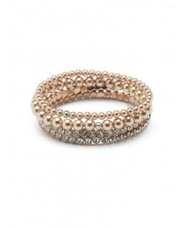 Scarlett | Set 4 Armbanden - Abrazi 4 Bracelet Rose