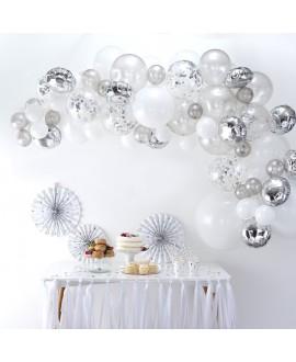 Zilveren Ballonnenboog BA-302 | Ginger Ray
