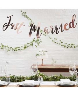 Slinger Just Married in roségoud - Beautiful Botanics