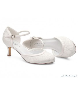 G.Westerleigh Bridal Shoes Daisy-Ivory-36-tweedekans