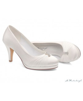 G.Westerleigh Bridal Shoes Hannah-White-38-tweedekans