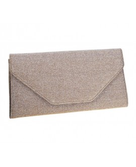 Rainbow Club Enveloppe Clutch Saskia Goud-Metallic