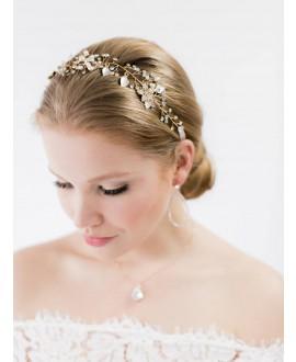 Abrazi Haarband Bruid HB-Leaf Rose