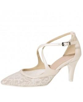 Fiarucci Bridal Bruidsschoenen Mariella Perle Lace Leather