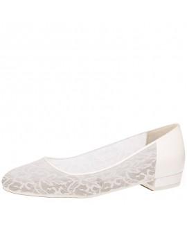 Fiarucci Bridal Bruidsschoenen Pascalle Perle Lace Leather