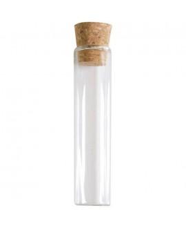 Glazen Buisjes met Kurk (10 cm)