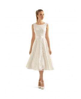 Vintage trouwkleed Aperta   Bianco Evento