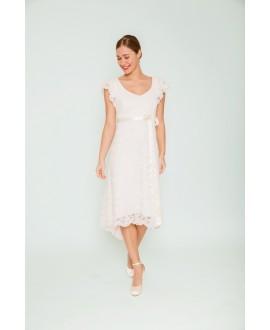 Korte trouwjurk Marianne | Victors bridalgowns