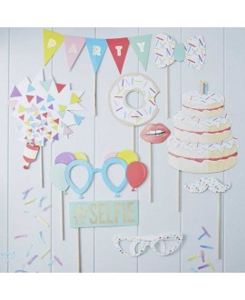 Photo Booth Party Props Pick & Mix (10st)