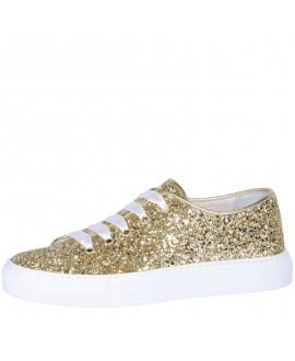 Fiarucci Bridal Bruidsschoenen Sneaker Suzan Goud Glitter