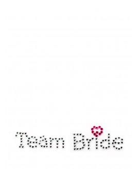 Team Bride Schoenstickers
